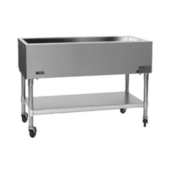 "Mobile Serving Counter, non-refrigerated cold pan, 66""W x 22-9/16""D x 35-1/2""H, open"