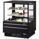 "Display Case, refrigerated, 36 1/2"" W, 11.8 cu.ft., 33°F - 41°F temperature range"