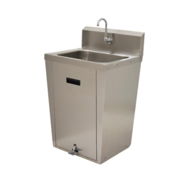 Advance Tabco 7-PS-86 Hand Sink, pedestal mounted base, 20