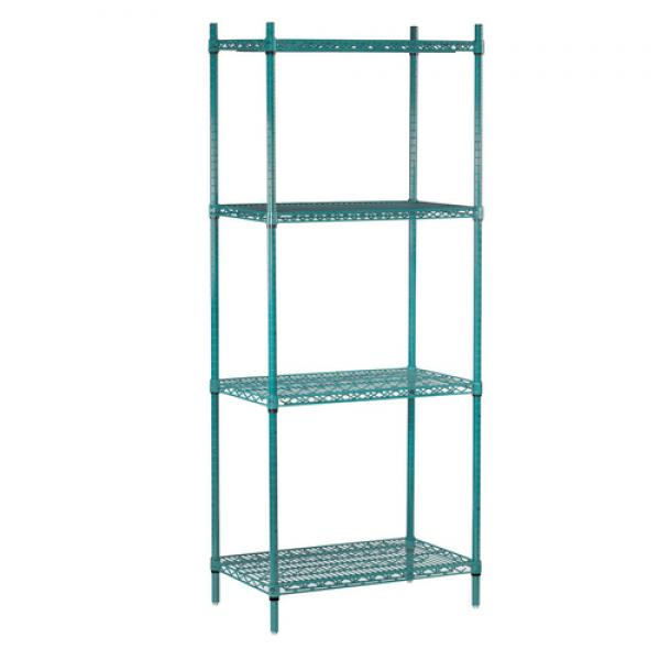 "Special Value Shelving Unit, Wire, 72""W x 18""D x 74""H, includes: (4) shelves &"