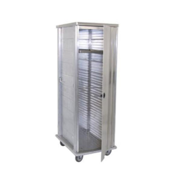 Special Value Enclosed Pan Cabinet, full height, 37 pan capacity, front load, enclosed extrusions