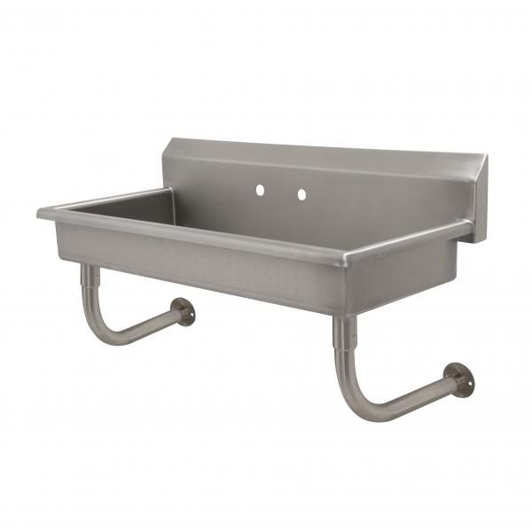 "Service Sink, wall mounted, 40""W x 19-3/4""D x 25-1/2""H (overall), 14"" front-to-back"