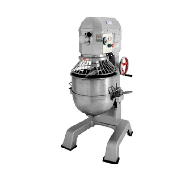 Commercial Precision Mixer, 40 quart bowl capacity, 3-speed,  stainless steel bowl,