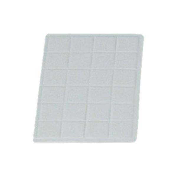 "Tile Tray, 1/3 size, 13-1/2"" x 9-7/16"", aluminum with ceramic-look coating, Sandstone"