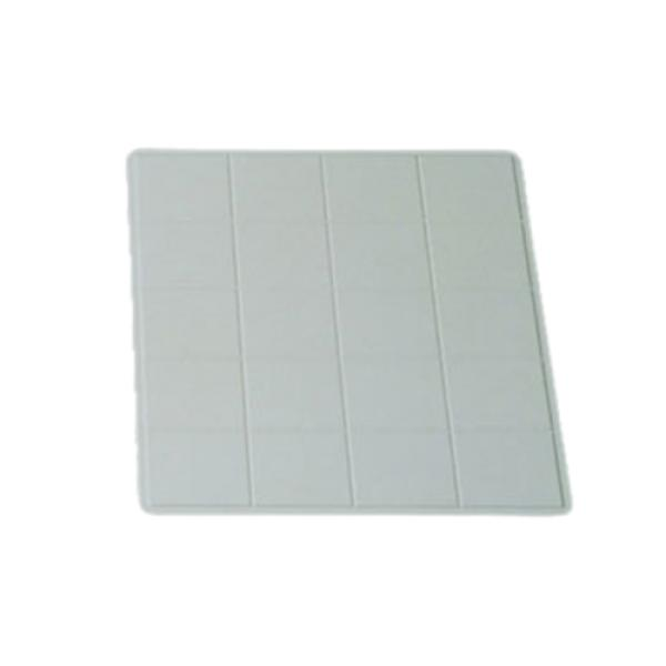 "Tile Tray, 1-1/2 size, 19-1/2"" x 21-1/2"", aluminum with ceramic-look coating, Sandstone"