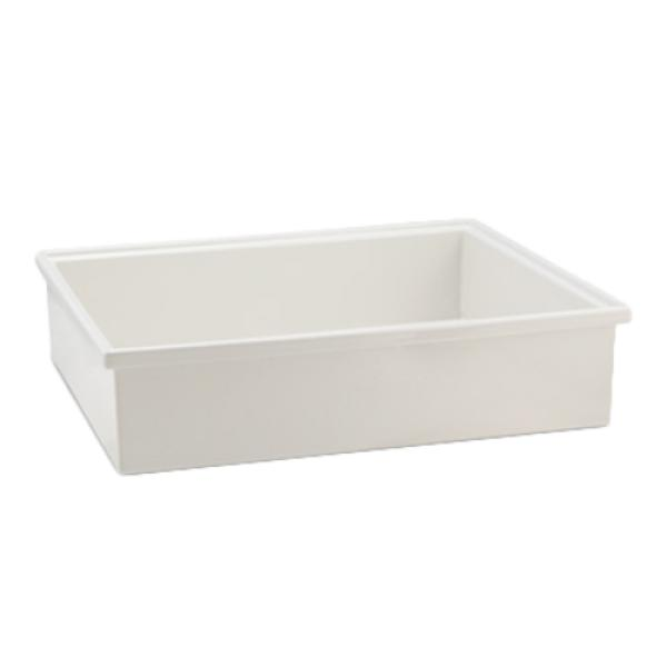 "Smart Bowl, 1/2 size, 6"" deep, 10 qt. 25 oz., 12-7/10"" x 10-1/20"", rectangular"