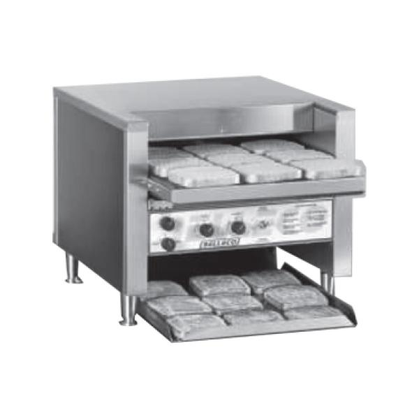 Conveyer Toaster, electric, open load-up area, quartz heating elements ...