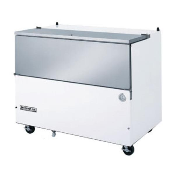 "School Milk Cooler, normal temperature, 49-1/2"" W, 31"" D, 20.0 cu. ft.&#"