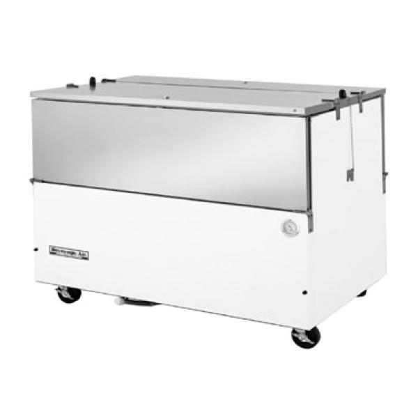 "School Milk Cooler, normal temperature, 58"" W, 31-1/2"" D, 24.0 cu. ft.&#"