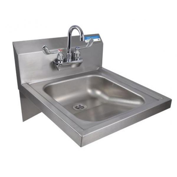 Ada Sink : BK Resources BKHS-ADA-S-P-G ADA Hand Sink, wall mount, 14