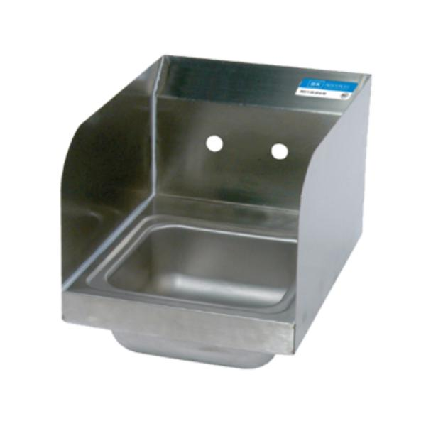 Bk Resources Bkhs W Ss Ss Space Saver Hand Sink Wall