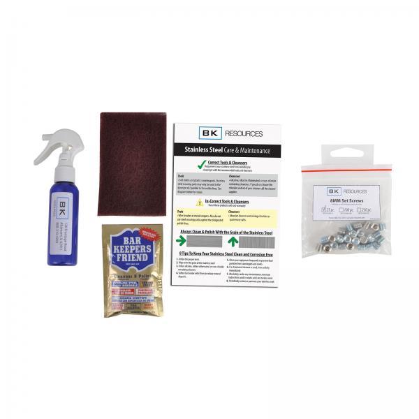 Bk Resources Bk Ss Carekit Ss Stainless Steel Cleaner