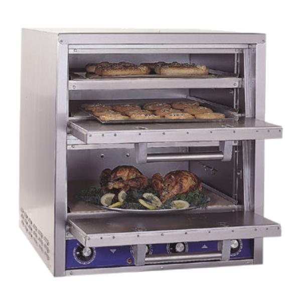 HearthBake Series Oven, countertop, electric, pizza/pretzel, brick lined, tw