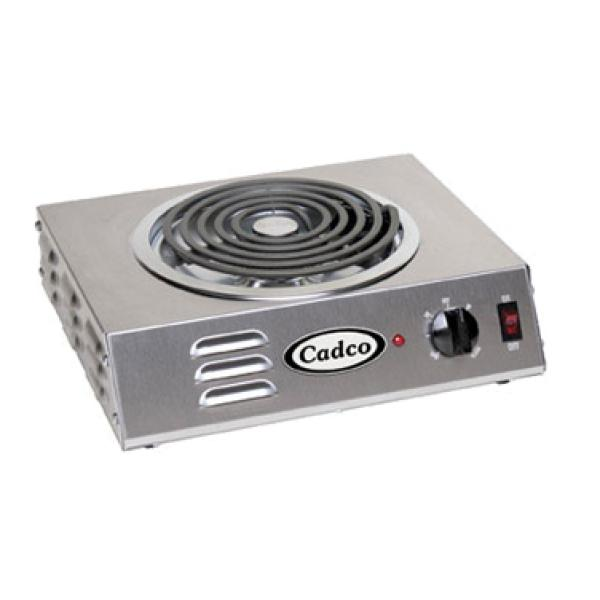 Hot Plate, counter unit, electric, single burner, high speed tubular element, in