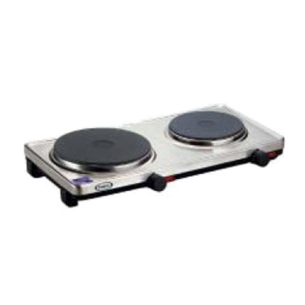 "Buffet Range, countertop, electric, double burner, (1) 7-3/8"" and &#"