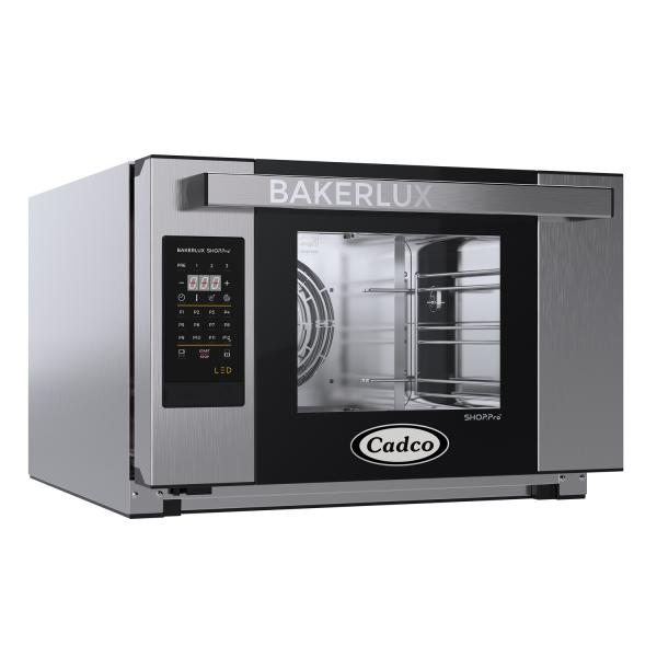 Bakerlux™ LED Heavy-Duty Convection Oven, electric, countertop, half size, (3) half size