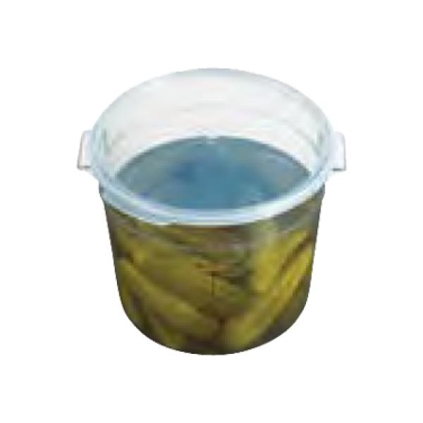 Seal Cover, for Camwear 6 & 8 qt. round storage container, translucent, polypropylen