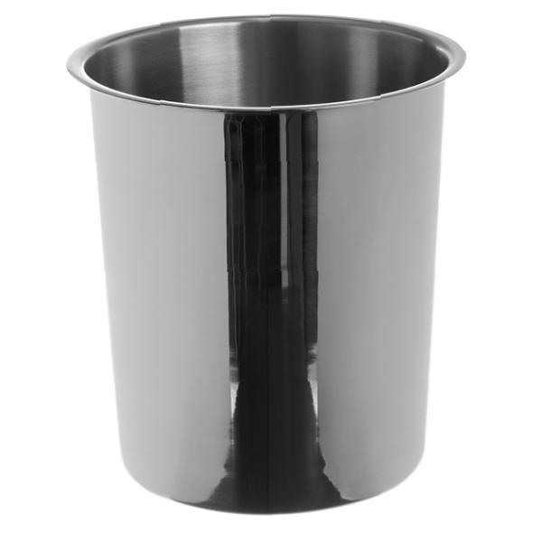 "Bain Marie, 12 quart, 9"" dia., smooth rounded edges, dishwasher safe, 18&#47"
