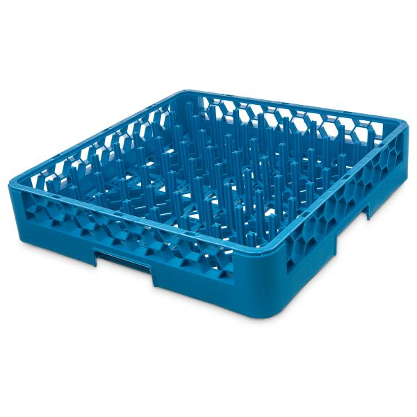 "OptiClean™ All Purpose Plate/Tray Peg Rack, full size, 2-1/4""H standard pegs, inside"