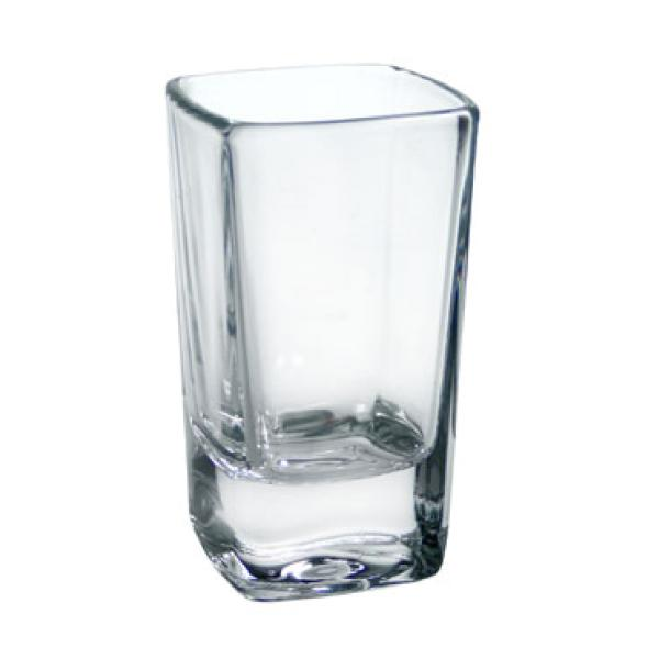 shot glass 234 oz square tall glass