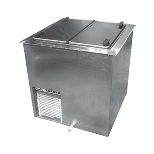 Global Refrigeration DI4 Drop-In Ice Cream Dipping Cabinet, (2 ...