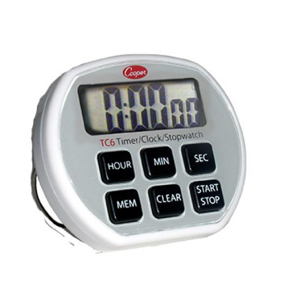 Cooper Atkins Tc6 0 8 Digital Timer Clock Stopwatch 24