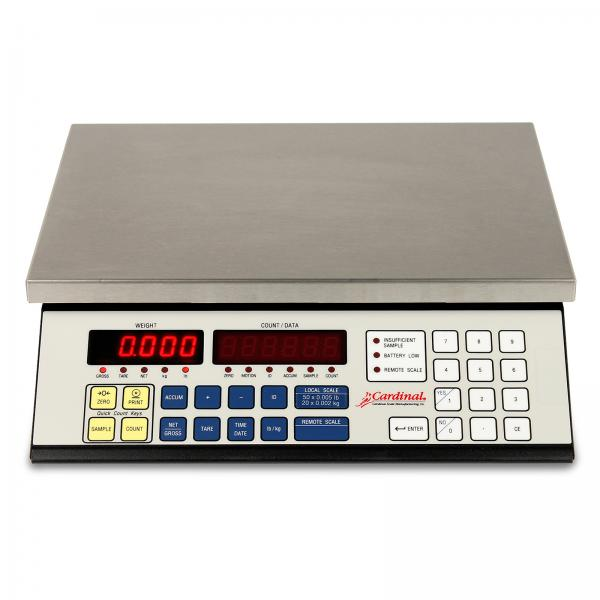counting scale digital top loading counter model 100 lb x 001 - Detecto Scales
