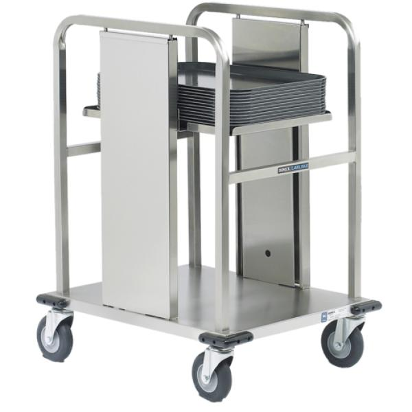 "Mobile Tray Dispenser, maximum. tray size 15"" x 20"", 150 capacity, open, single solid"