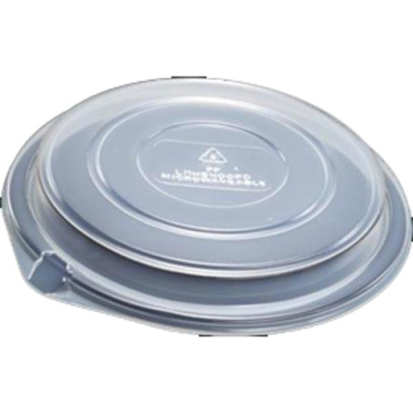 Dome Lid, for bowl, round, polystyrene, clear (250 per case)
