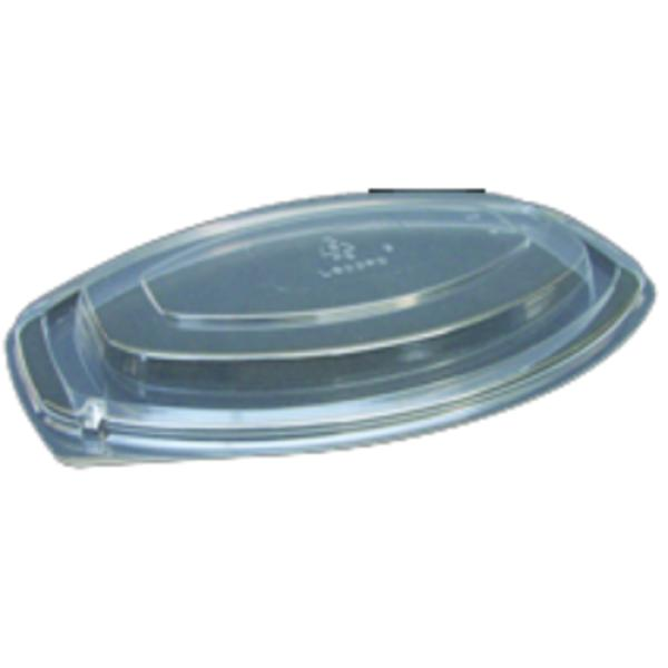 Dome Lid, for casserole containers, polystyrene, clear (250 per case)