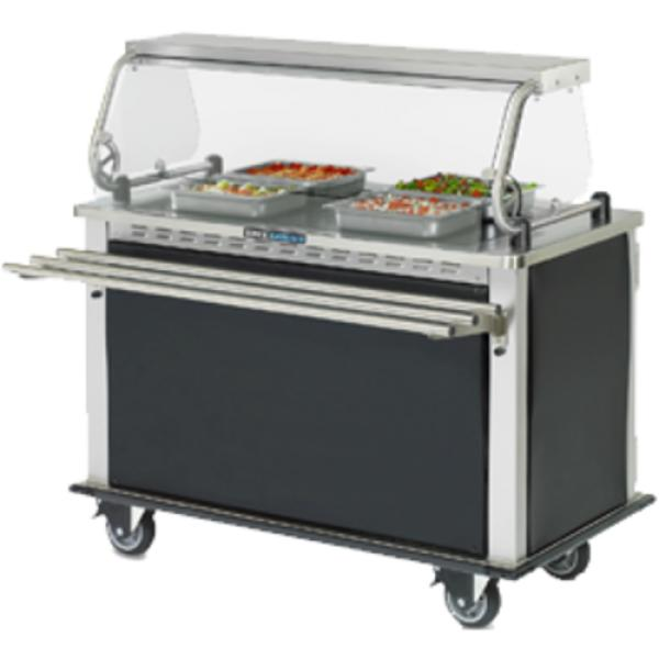"MealtimeXpress?™ Delivery Cart, 52-2/5""W x 28-3/4""D x 54-1/2""H (37-13/16""H"