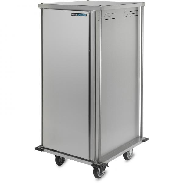 "TQ Meal Delivery Cart, (1) door, 1-compartment, 66-3/10""H, enclosed, (20) tray capacity"