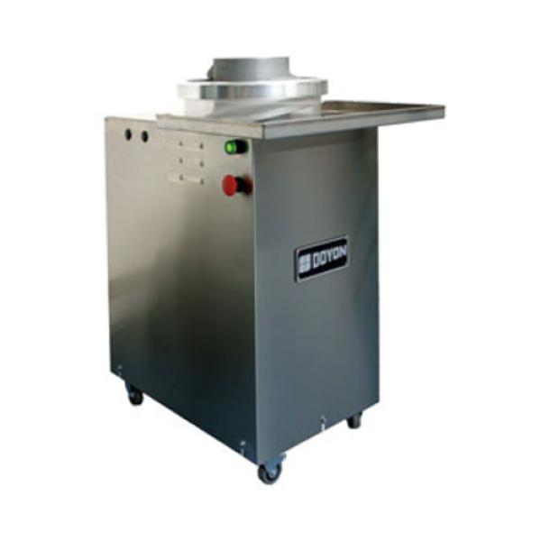 Automatic Dough Rounder, rounds up to 1800 portions per hour (3.5oz - 36oz), stainle