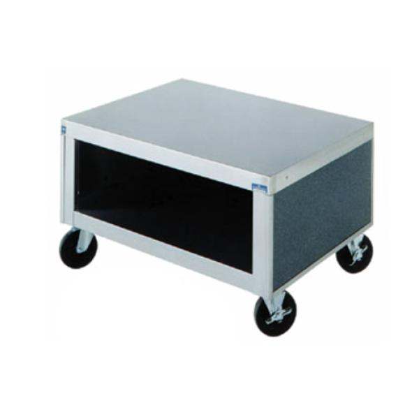 "AeroServ™ Tray Stand Unit, 32""W x 24-1/2""D x 19""H, 20ga stainless steel top"