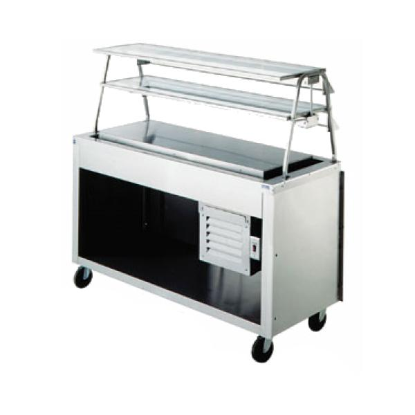 "AeroServ™ Frost Top Unit, 74""W x 24-1/2""D x 36""H, 20ga stainless steel top"