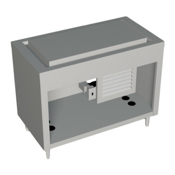 "AeroServ™ Frost Top Unit, 46""W x 24-1/2""D x 36""H, 20ga stainless steel top"
