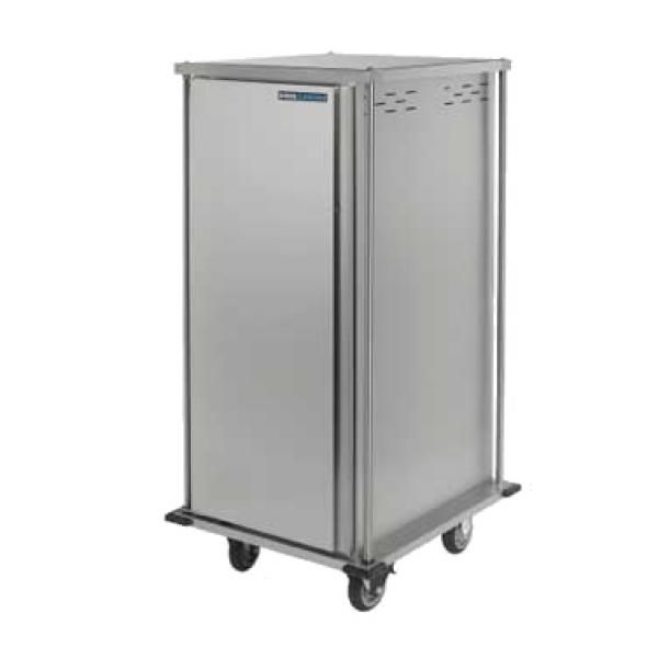 "TQ Meal Delivery Cart, pass thru, (1) door, 1-compartment, 66-3/10""H, enclosed, (18) tray"