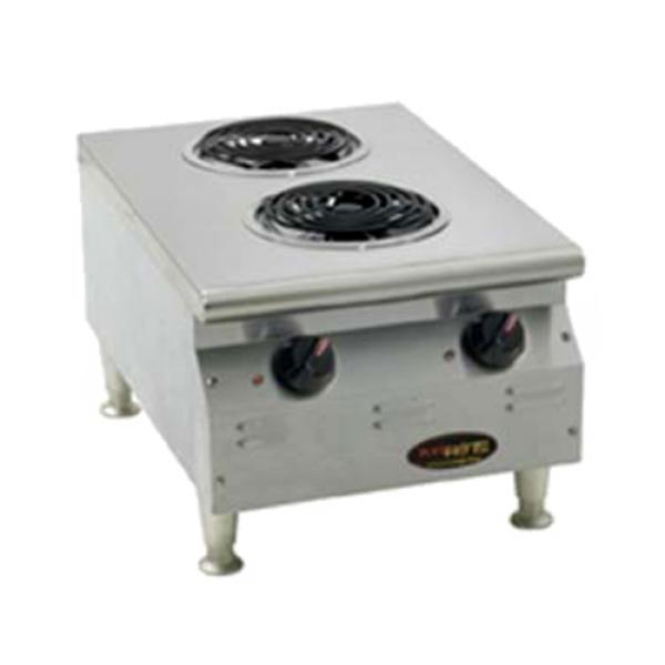 RedHots® Chef Line™ Hotplate, Counter Unit, electric, (2) 2100W flat