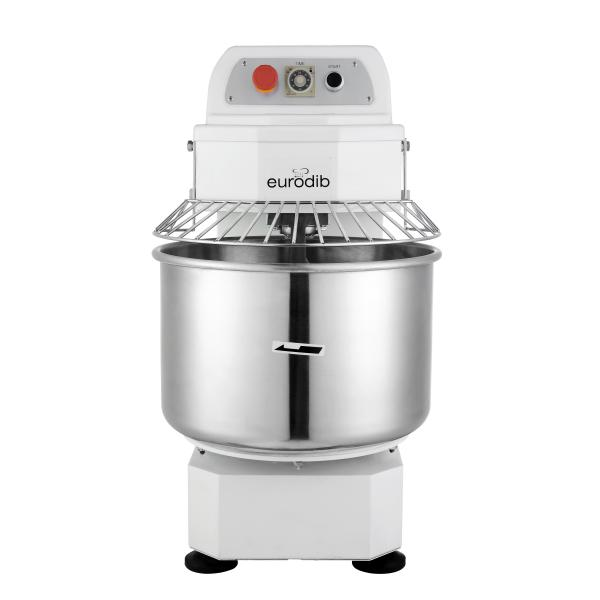 Spiral Mixer, 30 qt. capacity, 26.5 lb. maximum kneading capacity, with timer, 185 rpm mixing