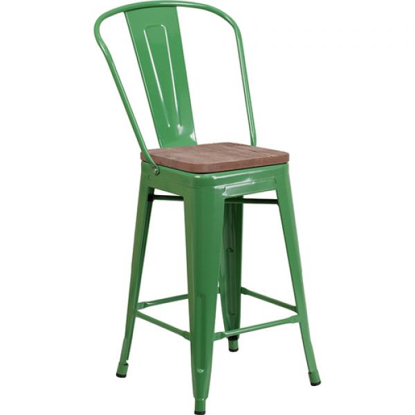 Bar Stool 500 Lb Weight Capacity Counter Height Bistro