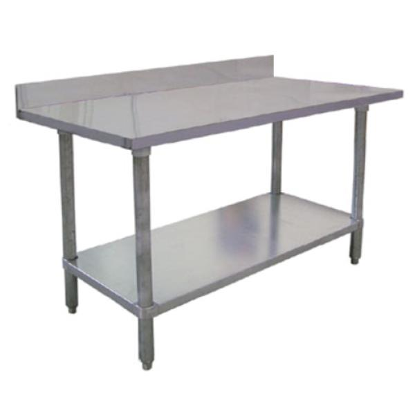 Omcan Elite Series Work Table W X D X H - Stainless steel commercial work table 30 x 72