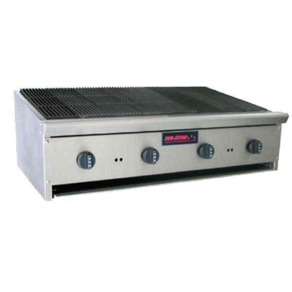 Countertop Broiler : Omcan TSRB-24 (17506) Radiant Broiler, gas, countertop, (4) stainless ...
