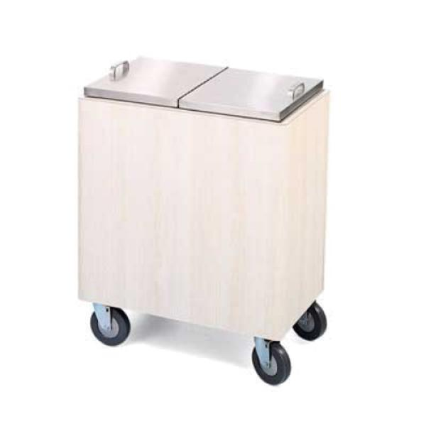 Ice Restocking Cart, standard, insulated, high pressure laminate, stainless steel li