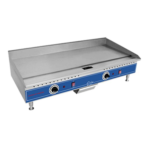 "Globe PG36E Griddle, countertop, electric, 36"", plate ..."