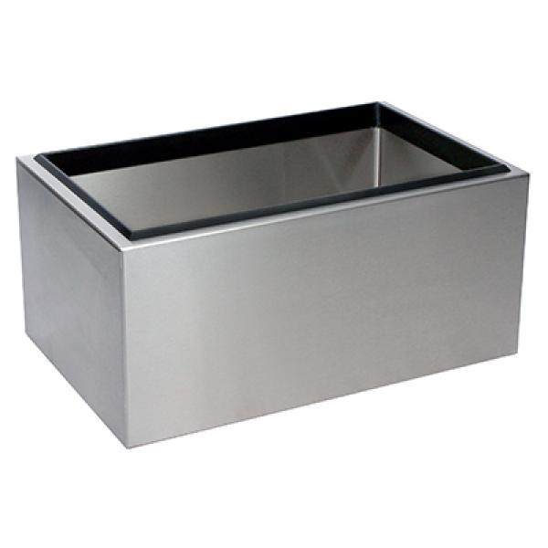 Portable Ice Bin Countertop 22 W X 14 D X 10 H 8 3 4 Deep