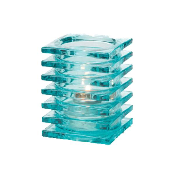 "Stacked Lamp, 2-7/8"" x 3-3/4""H, square, accommodates Hollowick′s H"