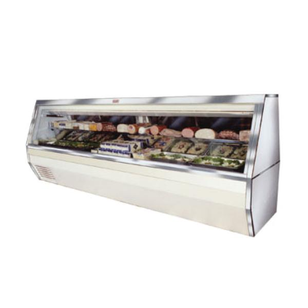 "Deli Meat and Cheese Service Case, double duty, 95""L, self-contained refrigeration&#"