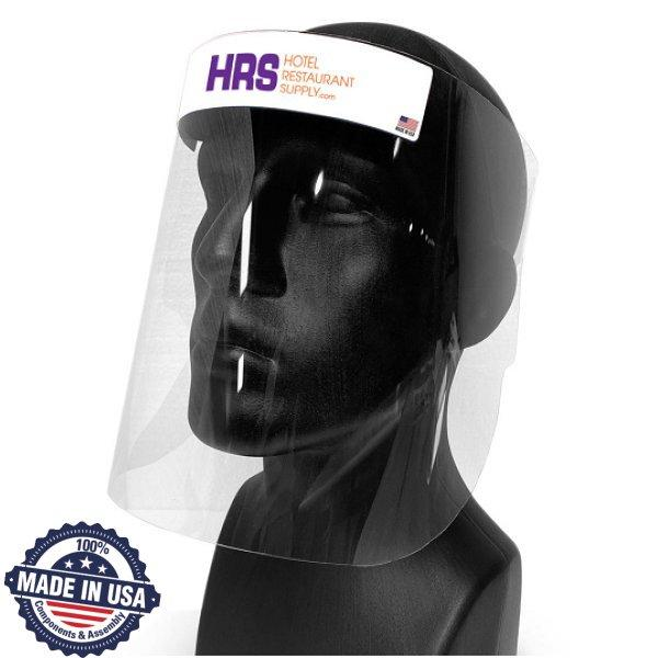 PPE Faceguard, 48 Pack - This premium quality PPE Faceguard is a polycorbonate face shield and a