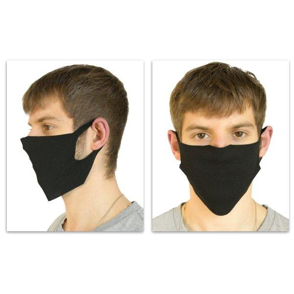 Reusable Face Mask - 150 Pack, Black. The Essential - Our Most Economical. Single layer of