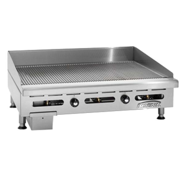Imperial IGG-48 Griddle, countertop, gas, 48